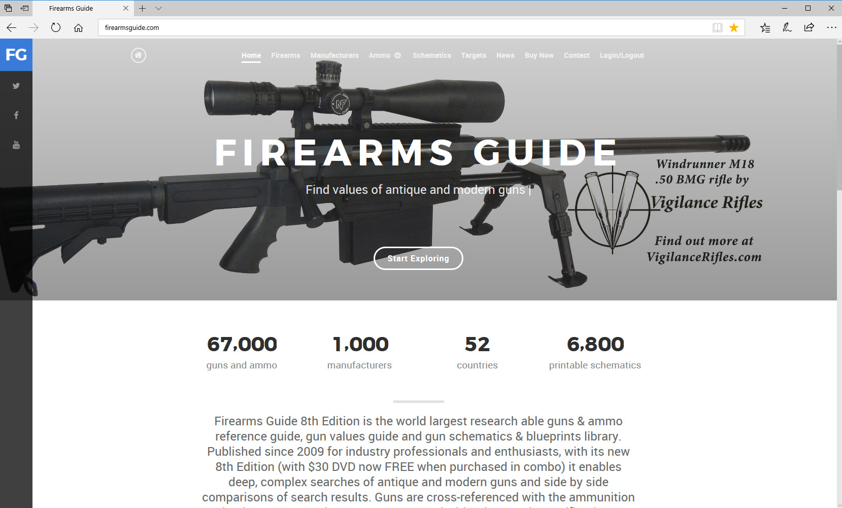 Firearms Guide Gun Diagrams 1911 Mil Spec Including Parts Diagram List Please See Example Of Vigilance Rifles Sponsored Cover Page With Its Windrunner M18 Rifle Below